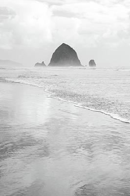 Photograph - Haystack Monochrome by Tim Newton