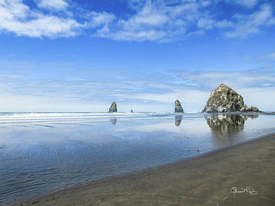 Photograph - Haystack Reflections by Susan Molnar