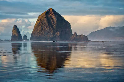 Photograph - Haystack Rock by Albert Seger