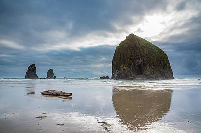 Photograph - Haystack Rock And The Needles by Anthony Doudt