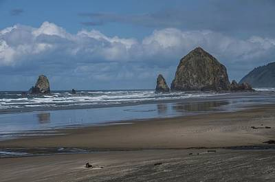 Photograph - Haystack Rock And The Needles At Cannon Beach Oregon by NaturesPix