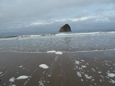 Photograph - Haystack Rock by Bonita Waitl