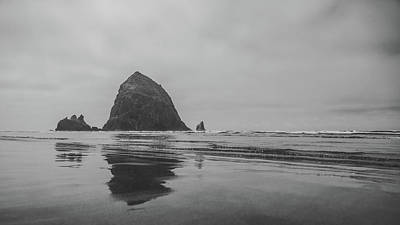 Photograph - Haystack Rock Cannon Beach Oregon by Lawrence S Richardson Jr