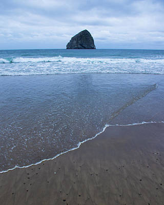 Photograph - Haystack Rock by Jedediah Hohf