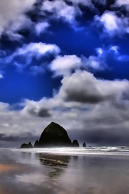 Photograph - Haystack Rock Monolith by David Patterson