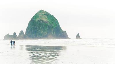 Photograph - Haystack Rock by Nisah Cheatham