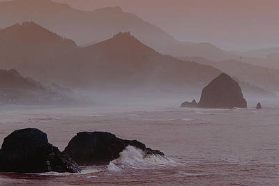 Photograph - Haystack Rock by Norman Hall