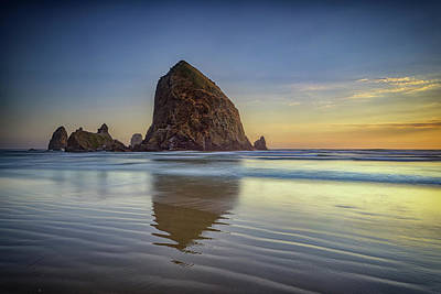 Photograph - Haystack Rock by Rick Berk