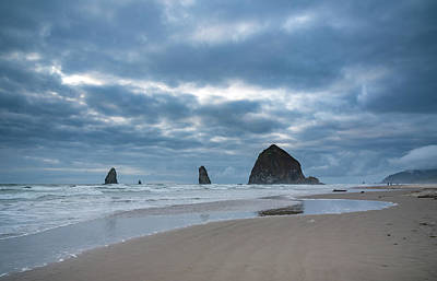 Photograph - Haystack Rock, The Needles, And Cannon Beach by Anthony Doudt