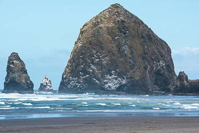 Photograph - Haystack Rock by Tom Cochran