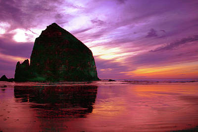 Photograph - Haystack Sunset by Craig Strand
