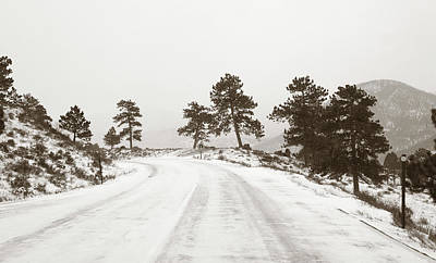 Photograph - Hazardous Hills by Marilyn Hunt