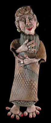 Sculpture - Hazel by Judy  Hensley