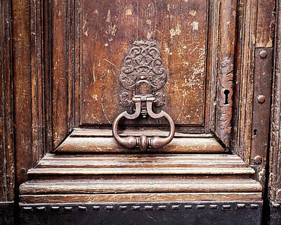 Photograph - Hazel - Paris Door Photography by Melanie Alexandra Price