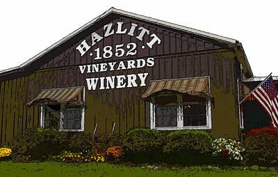 Hazlitt Winery 1852 Art Print