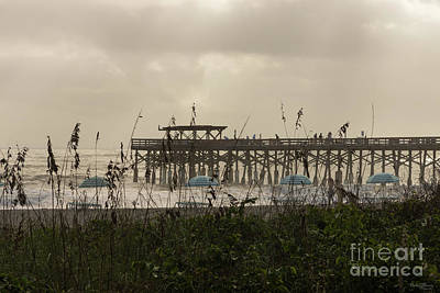 Photograph - Hazy Beach Morning by Jennifer White