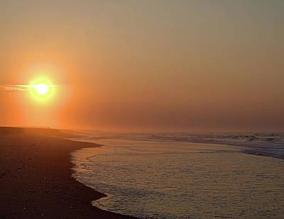 Photograph - Hazy Beach by Newwwman