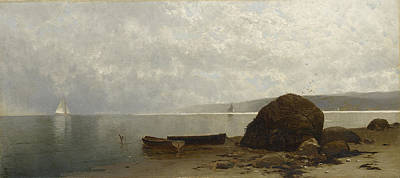 Painting - Hazy Coast by Alfred Thompson Bricher