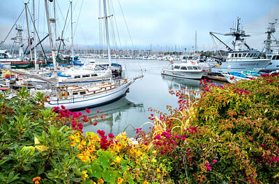 Photograph - Hazy Days At The Harbor 2 by Lynn Bauer