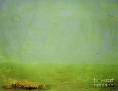 Wall Art - Painting - Hazy Horizon by Vesna Antic