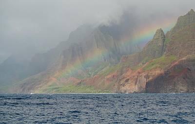 Photograph - Hazy Rainbow by Devin Millington