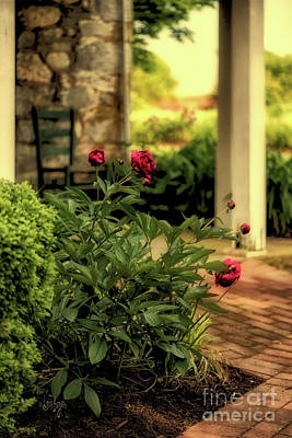 Photograph - Hazy Summer Afternoons On The Porch by Lois Bryan