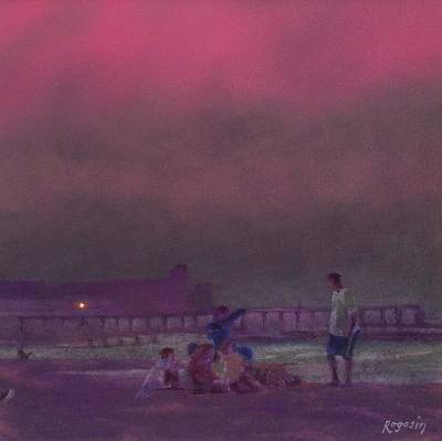 Painting - Hazy Summer Nights by Harvey Rogosin