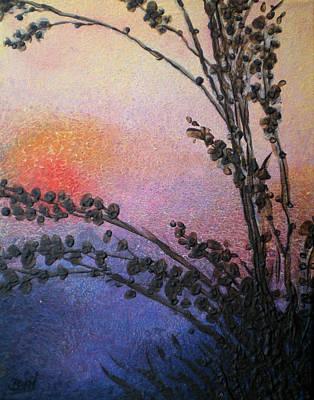 Hazy Sun Art Print by Bill Brown
