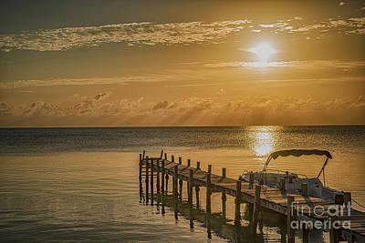 Photograph - Hazy Sunrise by David Zanzinger