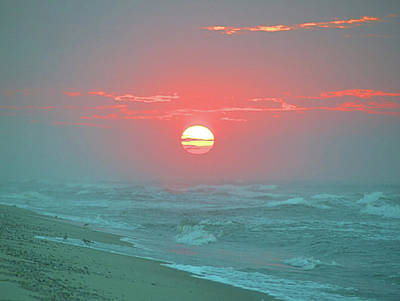 Photograph - Hazy Sunrise I V by Newwwman
