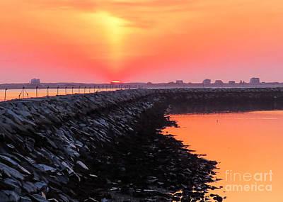 Photograph - Hazy Sunrise  by Janice Drew