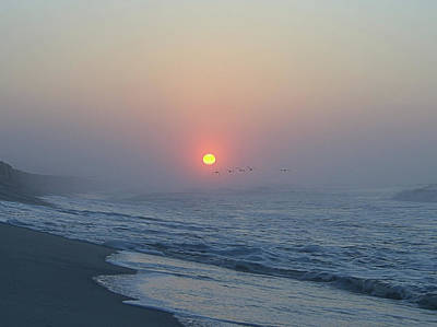 Photograph - Hazy Sunrise V I by Newwwman