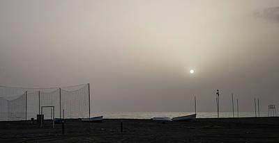 Photograph - Hazy Sunset by Jocelyn Kahawai
