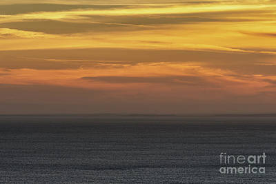 Photograph - Hazy Sunset Over The Sea by Clayton Bastiani