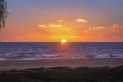 Photograph - Hazy Sunsets And Waves by Tina Ernspiker