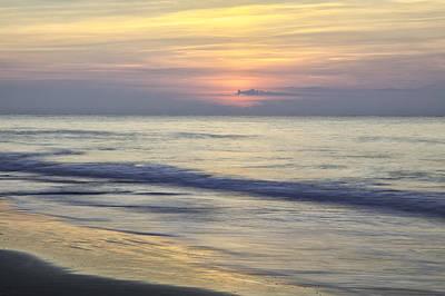 Photograph - Hb Sunrise 02 by Jim Dollar