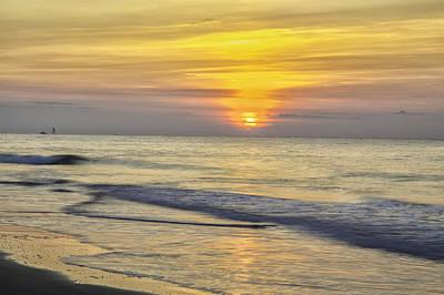Photograph - Hb Sunrise 09 by Jim Dollar