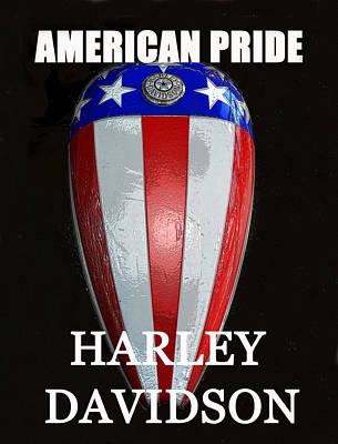 Pride Painting - Hd American Pride by David Lee Thompson