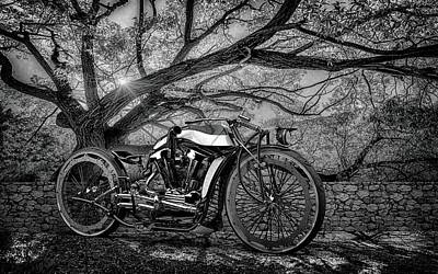 Photograph - Hd Cafe Racer  by Louis Ferreira
