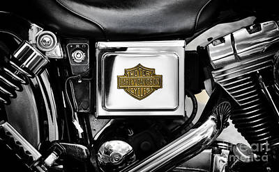 Harley Davidson Photograph - Hd Chromed And Toned by Tim Gainey