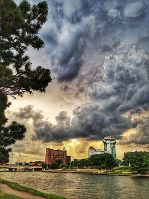 Photograph - Hdr Ict Thunder by Brian Duram