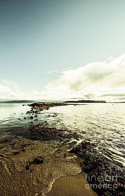 Hdr Island Scenery Art Print by Jorgo Photography - Wall Art Gallery