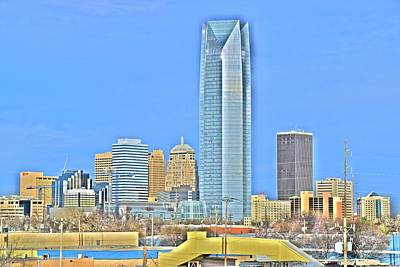 Photograph - Hdr Okc by Frozen in Time Fine Art Photography