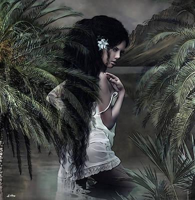 He Aloha Mau Kou  Art Print