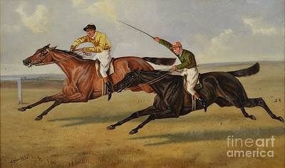 Two Wheeler Painting - he Eclipse Stakes by MotionAge Designs