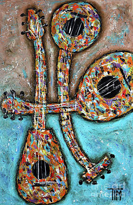 Painting - He Has Alotta Lute by Tim Ross