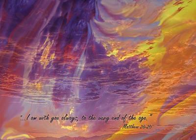 Photograph - He Has Risen Easter Card by Michele Avanti