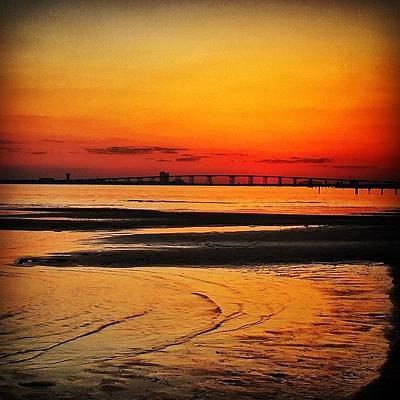 Golden Wall Art - Photograph - Sunset Glow by Joan McCool