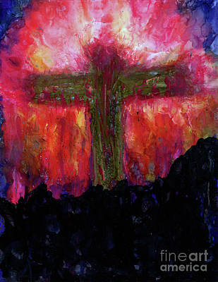 Empty Cross Paintings   Fine Art America Empty Cross Painting