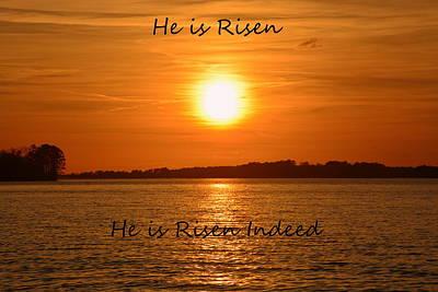 He Is Risen He Is Risen Indeed Art Print
